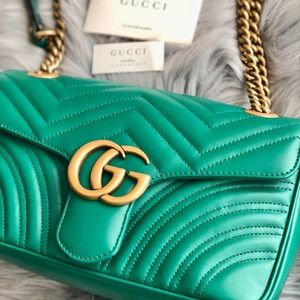 💝Authentic Gucci Marmont 2.0 Small Flap💝